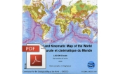 Structural and kinematic map of the World - PDF