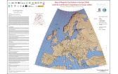 Map of Magnetic Declination in Europe (2006)