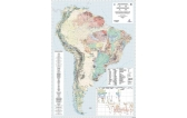 Metallogenic Map of South America