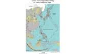 Eastern Asia Geological hazards map