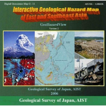 Carte De Lasie Interactive.Interactive Geological Hazard Map Of East And Southeast Asia