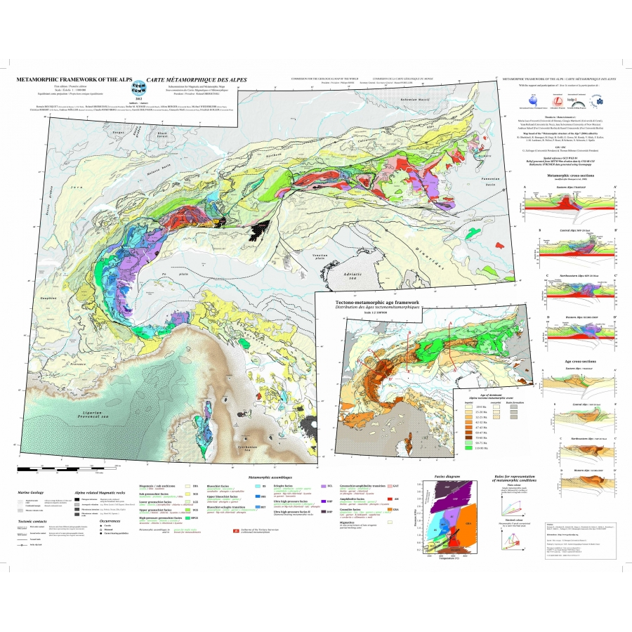 Metamorphic Framework of the Alps - CCGM - CGMW
