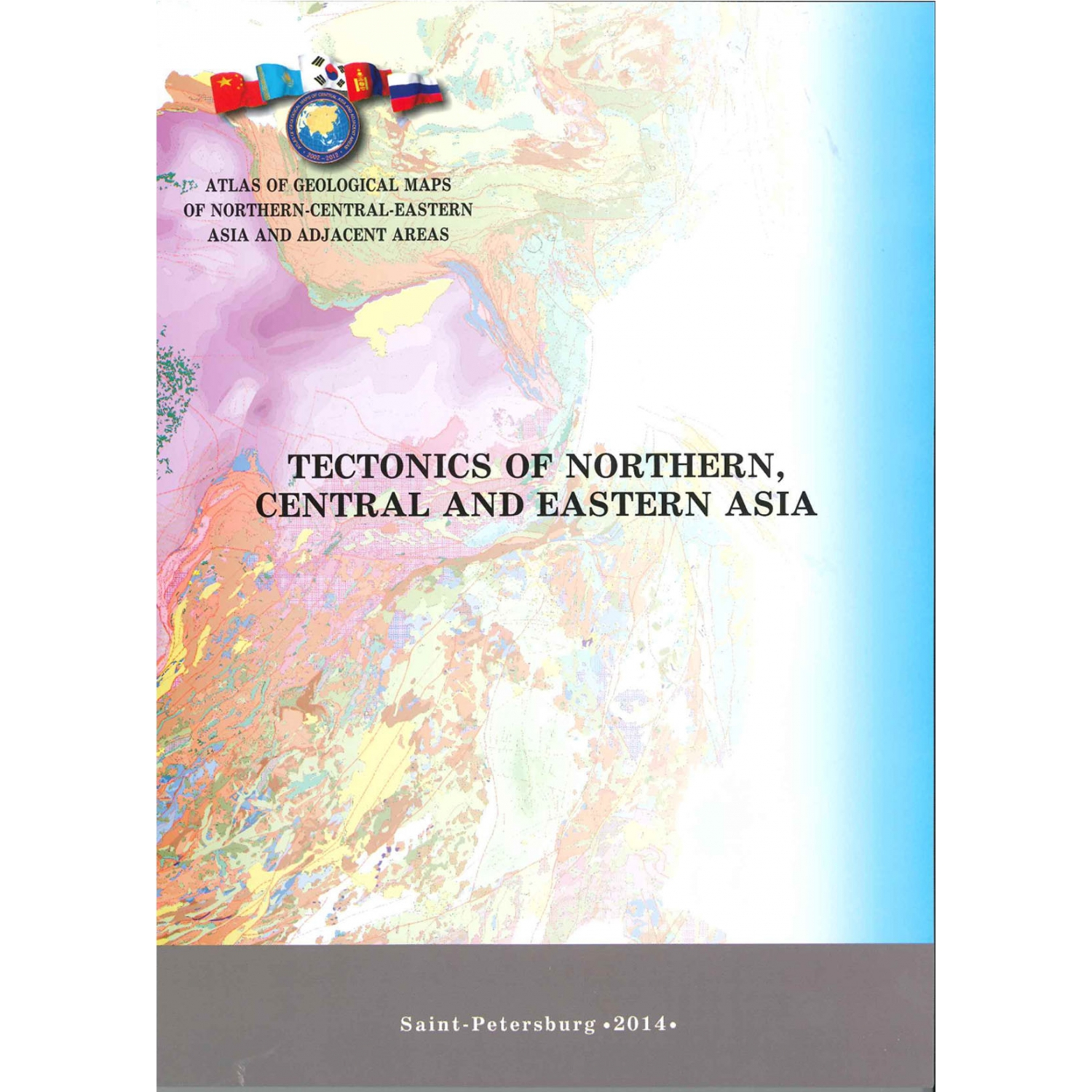 Tectonic Map Of Northern Central And Eastern Asia Ccgm Cgmw