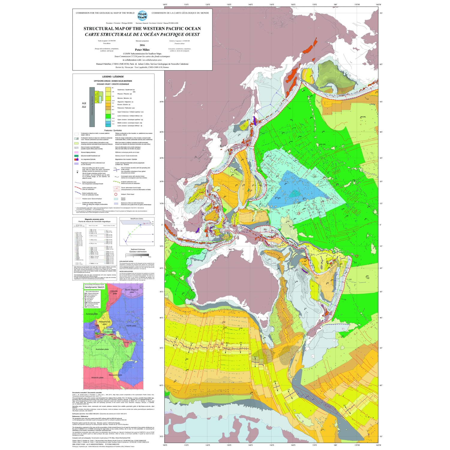 Structural map of the western pacific ocean ccgm cgmw view full size gumiabroncs Image collections