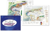 Pack Alps - Tectonic & Metamorphic Maps + Faces of The Alps Booklet