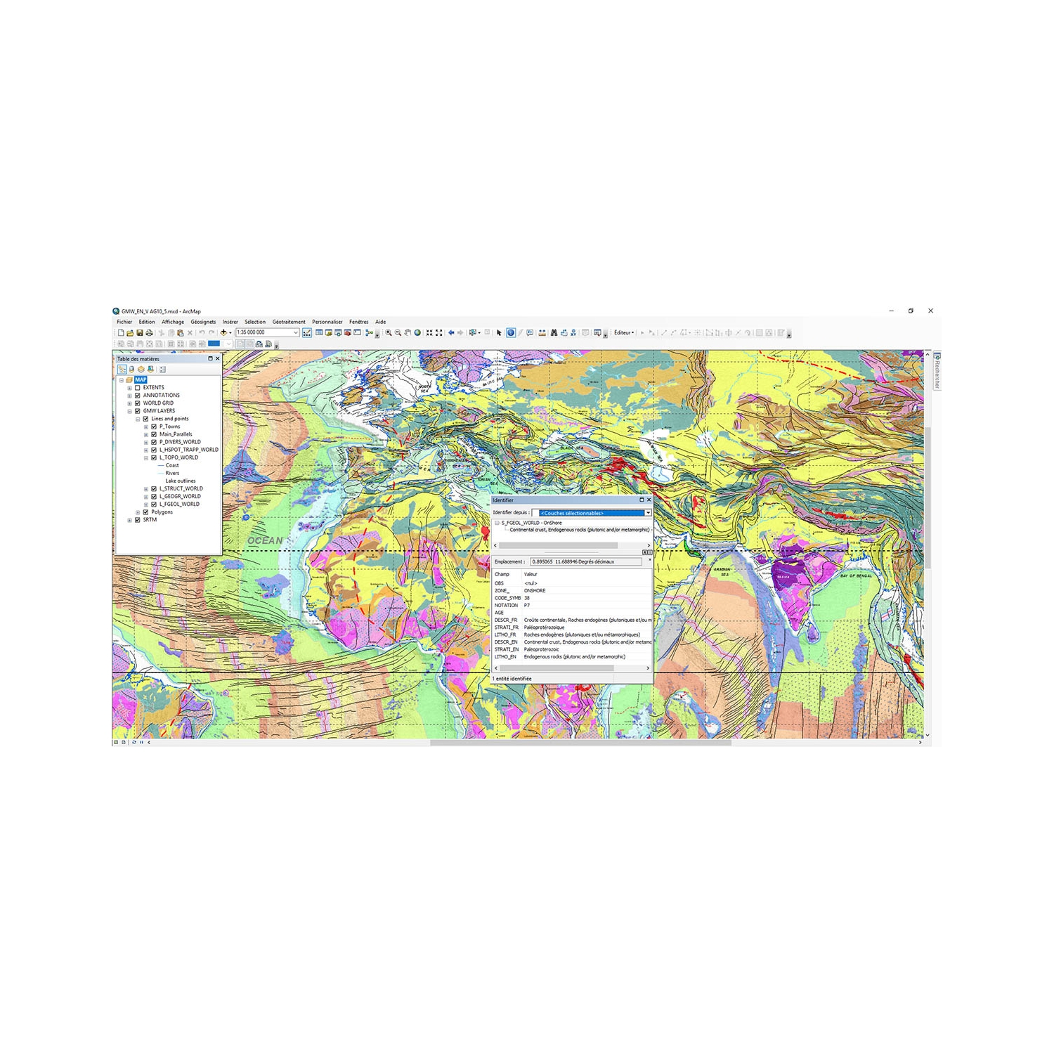 GIS Database of the Geological Map of the World at 1/35 000 ... on map data, map projection, map art, map world, map print, map design, map services, map history, map of ur and uruk, map book, map of mobile, map drawing, map games, map of asean countries, map language, map java, map web, map of afghanistan and pakistan, map project,